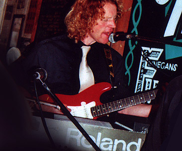 Dave with Soul Inferno � Finegans Wake, Edinburgh in 2006