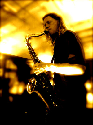 Dave Ford on sax